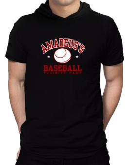 Amadeuss Baseball Training Camp Hooded T-Shirt - Mens