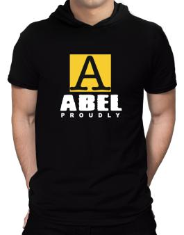 Proud To Be Abel Hooded T-Shirt - Mens