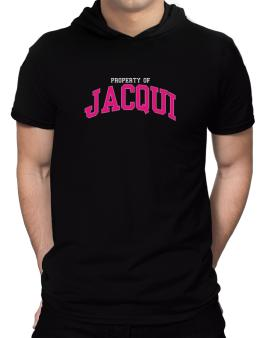 Property Of Jacqui Hooded T-Shirt - Mens