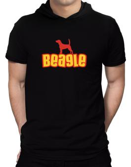Breed Color Beagle Hooded T-Shirt - Mens