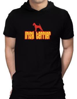 Breed Color Irish Terrier Hooded T-Shirt - Mens