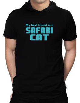 My Best Friend Is A Safari Hooded T-Shirt - Mens