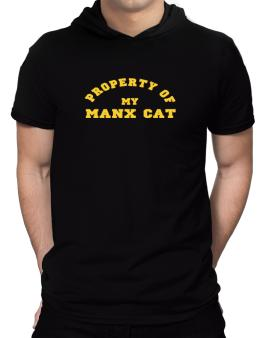 Property Of My Manx Hooded T-Shirt - Mens