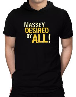 Massey Desired By All! Hooded T-Shirt - Mens