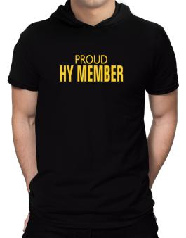 Proud Hy Member Hooded T-Shirt - Mens