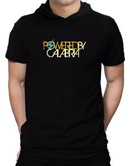 Powered By Calabria Hooded T-Shirt - Mens