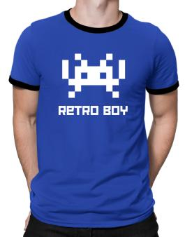 Retro Boy Ringer T-Shirt