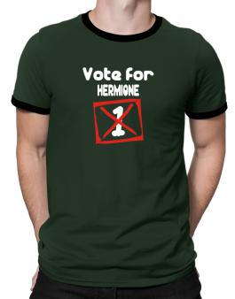 Vote For Hermione Ringer T-Shirt