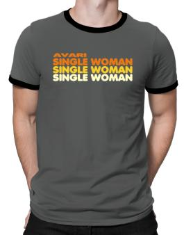 Avari Single Woman Ringer T-Shirt