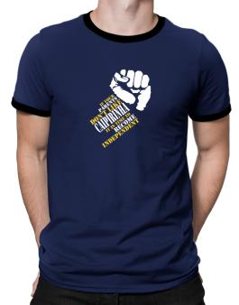 If Your Parents Dont Like Caipirinha, Its Time To Become Independent Ringer T-Shirt