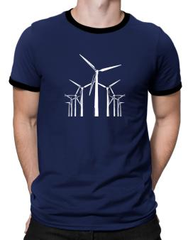 Wind Energy Ringer T-Shirt