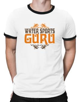 Water Sports Guru Ringer T-Shirt