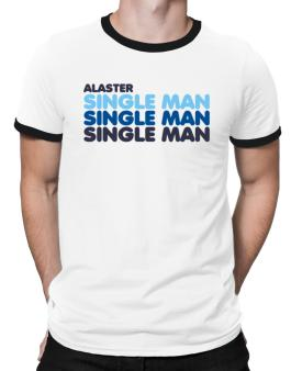 Alaster Single Man Ringer T-Shirt