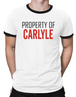 Property Of Carlyle Ringer T-Shirt