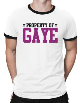 Property Of Gaye Ringer T-Shirt
