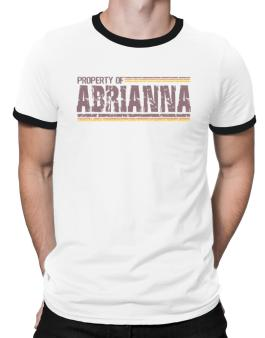 Property Of Abrianna - Vintage Ringer T-Shirt