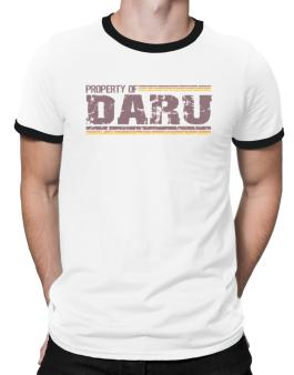 Property Of Daru - Vintage Ringer T-Shirt