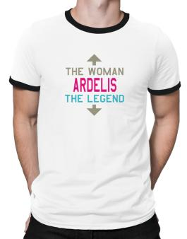 Ardelis - The Woman, The Legend Ringer T-Shirt
