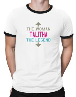 Talitha - The Woman, The Legend Ringer T-Shirt