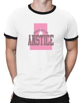 Property Of Anstice Ringer T-Shirt