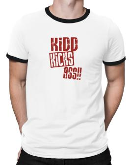 Kidd Kicks Ass!! Ringer T-Shirt