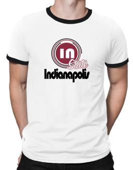 Indianapolis - State Ringer T-Shirt