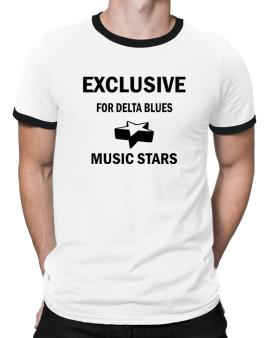 Exclusive For Delta Blues Stars Ringer T-Shirt