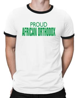 Proud African Orthodox Ringer T-Shirt