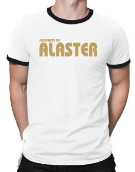 Property Of Alaster Ringer T-Shirt