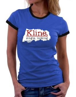 Kline, Singe, Looking Women Ringer T-Shirt