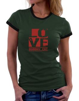 Love Bombay Women Ringer T-Shirt