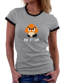 Playeras Ringer de Bad Attitude