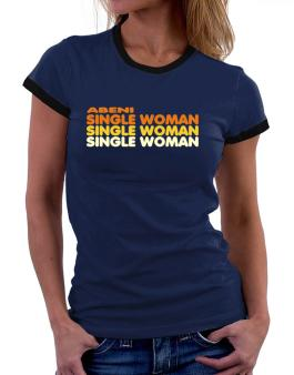 Abeni Single Woman Women Ringer T-Shirt