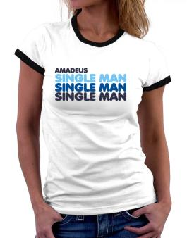 Amadeus Single Man Women Ringer T-Shirt