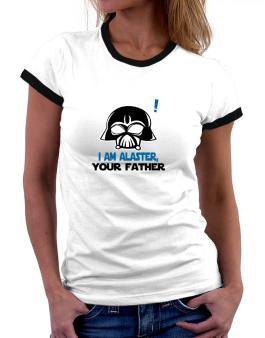 I Am Alaster, Your Father Women Ringer T-Shirt
