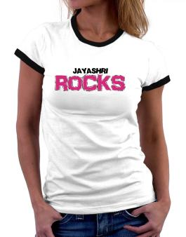 Jayashri Rocks Women Ringer T-Shirt