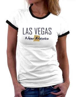 """ Las Vegas - State Map "" Women Ringer T-Shirt"