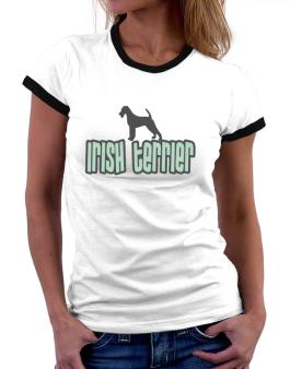 Breed Color Irish Terrier Women Ringer T-Shirt