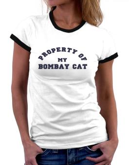 Property Of My Bombay Women Ringer T-Shirt
