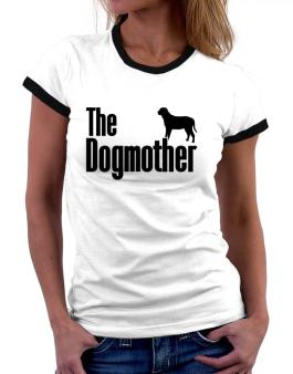 The dogmother Broholmer Women Ringer T-Shirt