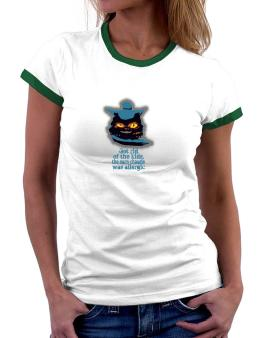 Got Rid Of The Kids, The Euro Chausie Was Allergic Women Ringer T-Shirt