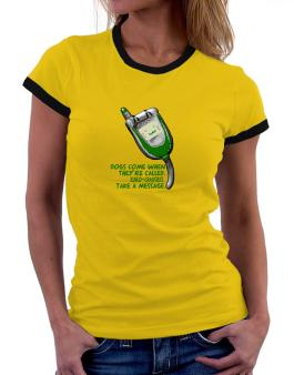 Dogs Come When They Are Called. Euro Chausies Take A Message. Women Ringer T-Shirt