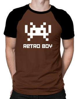 Polo Raglan de Retro Boy