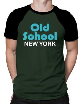 Old School New York Raglan T-Shirt