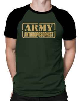 Army Anthroposophist Raglan T-Shirt