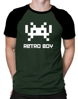 Retro Boy Raglan T-Shirt