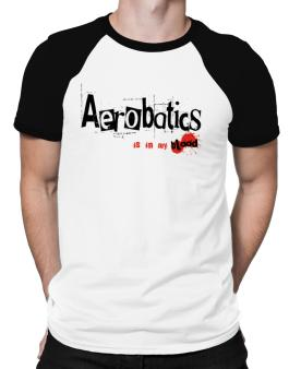 Aerobatics Is In My Blood Raglan T-Shirt