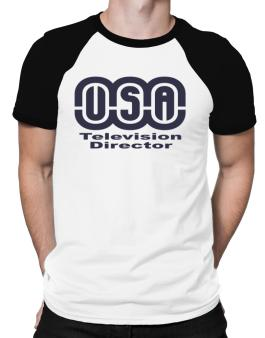 Usa Television Director Raglan T-Shirt