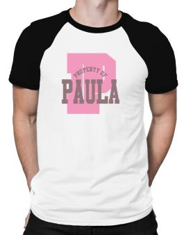 Property Of Paula Raglan T-Shirt