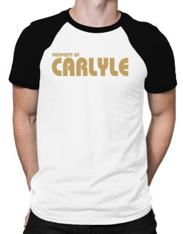 Property Of Carlyle Raglan T-Shirt